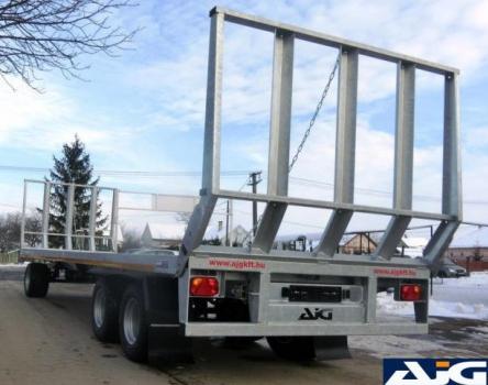 ABP 3018 bálaszállító pótkocsi