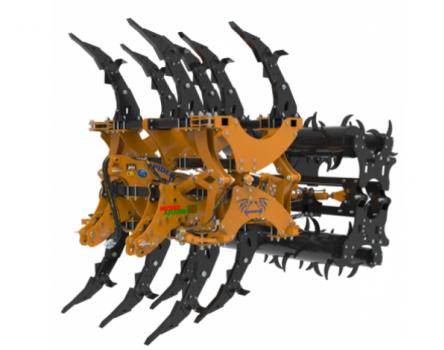 MORO ARATRI SPIDER X függesztett mélylazító