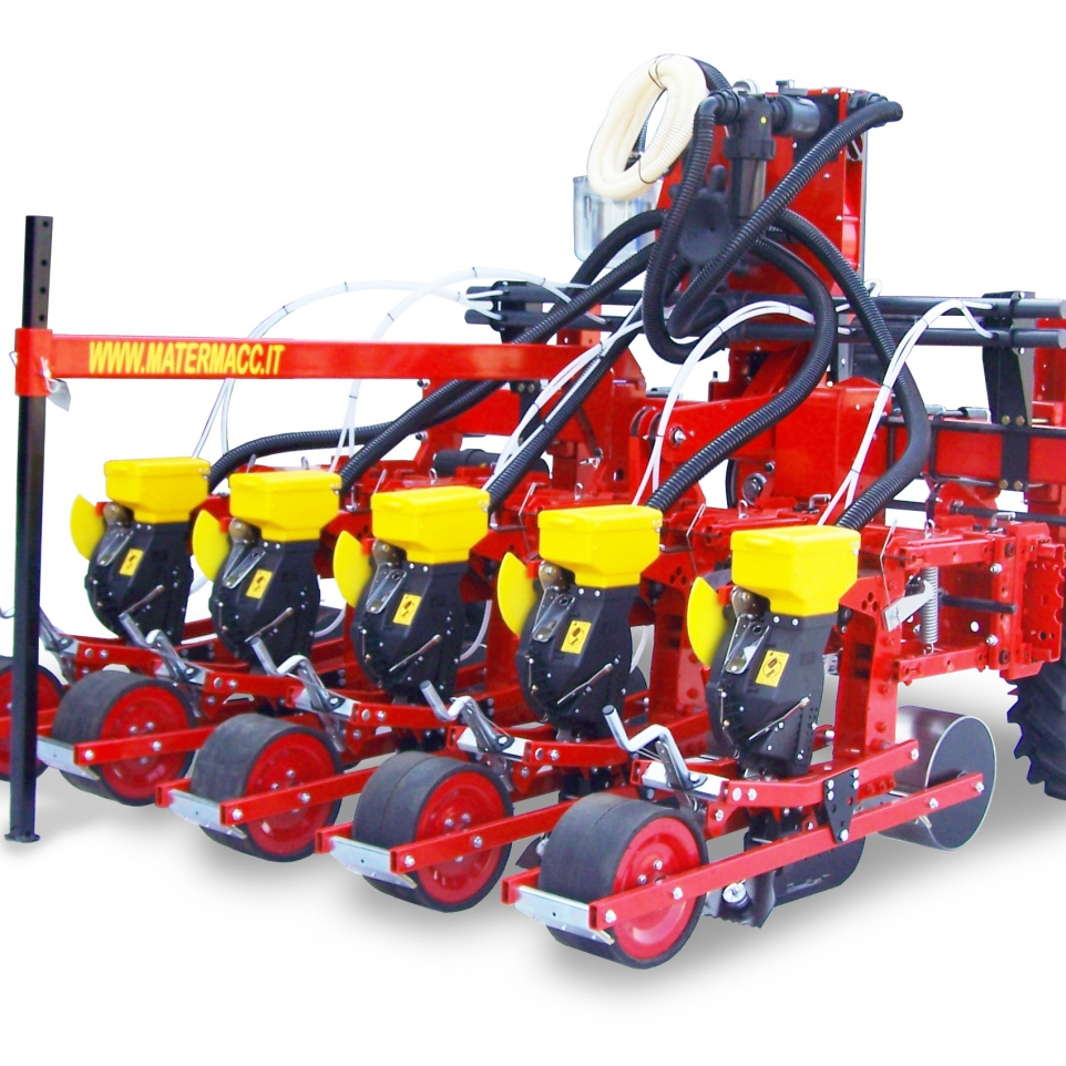 MaterMacc aprómag és zöldség vetőgépek